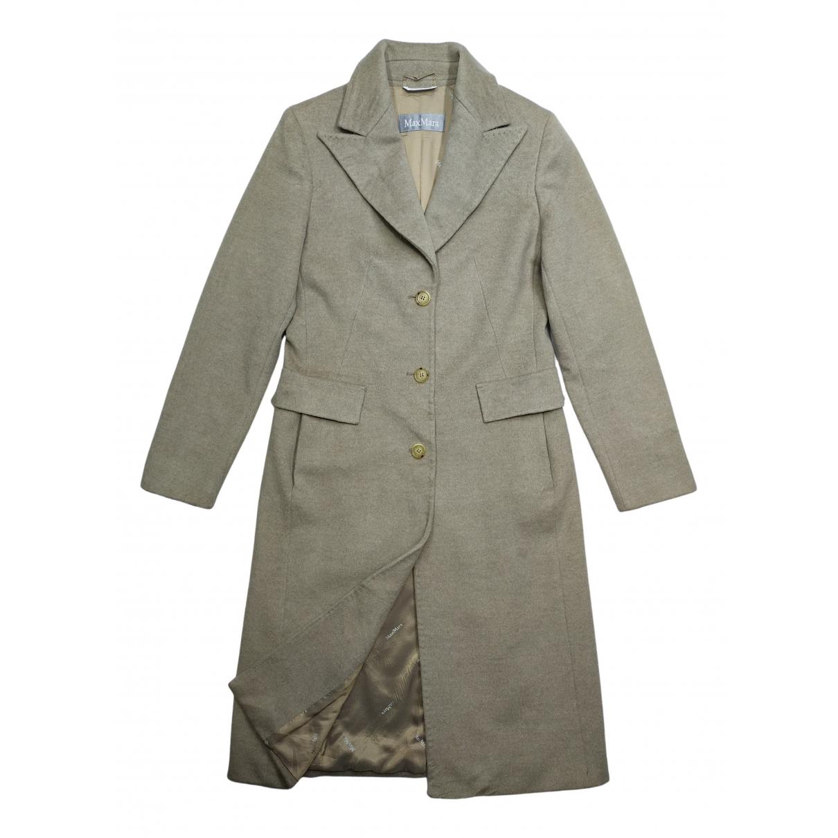 Max Mara N Beige Wool coat for Women 36 IT