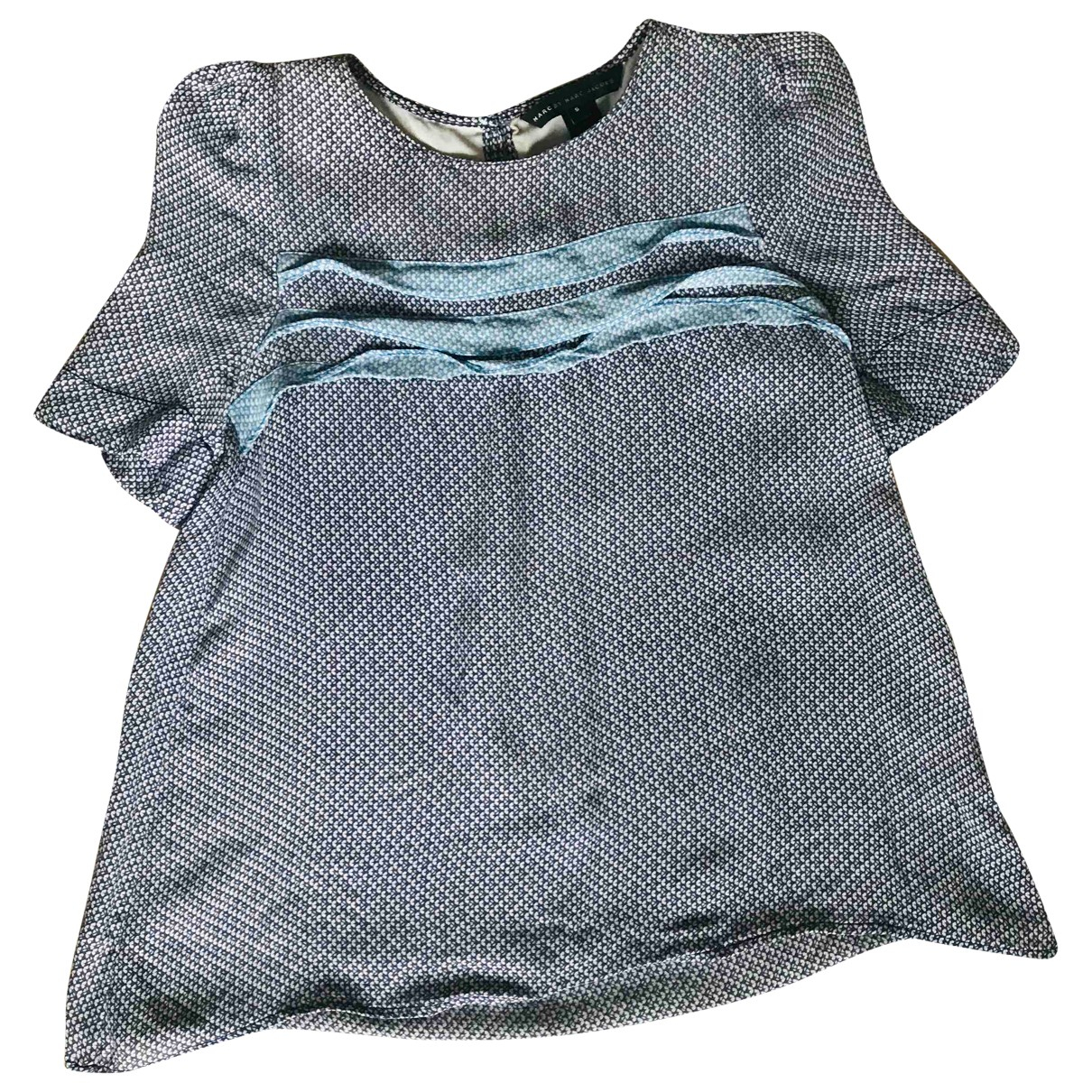 Marc By Marc Jacobs N Blue Silk  top for Women S International