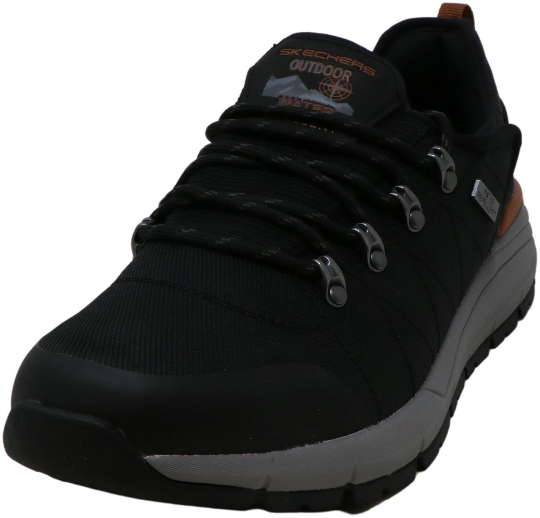 Skechers Men's Volero - Dalven Black Ankle-High Mesh Hiking Shoe 10.5M
