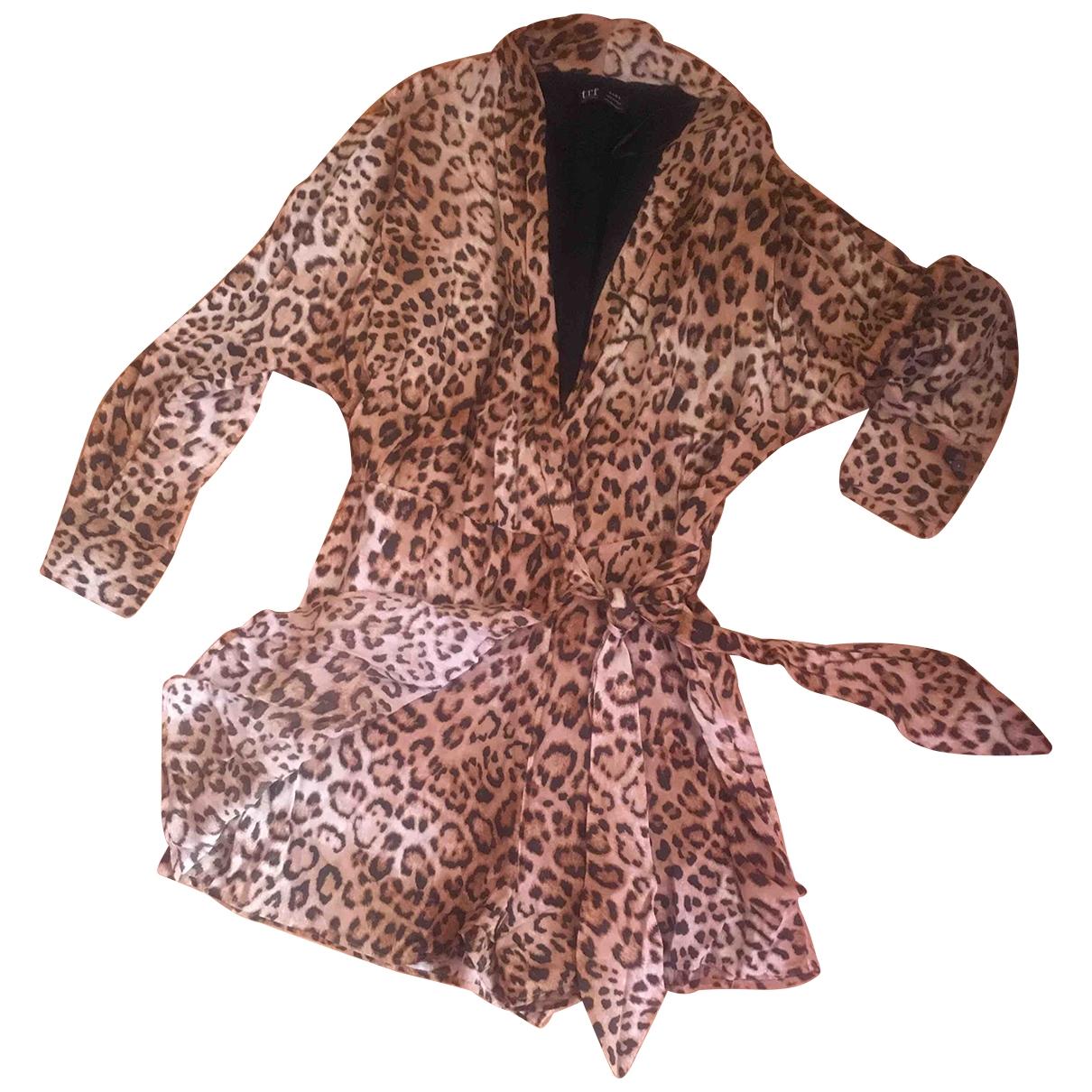 Zara \N Jumpsuit in  Beige Polyester