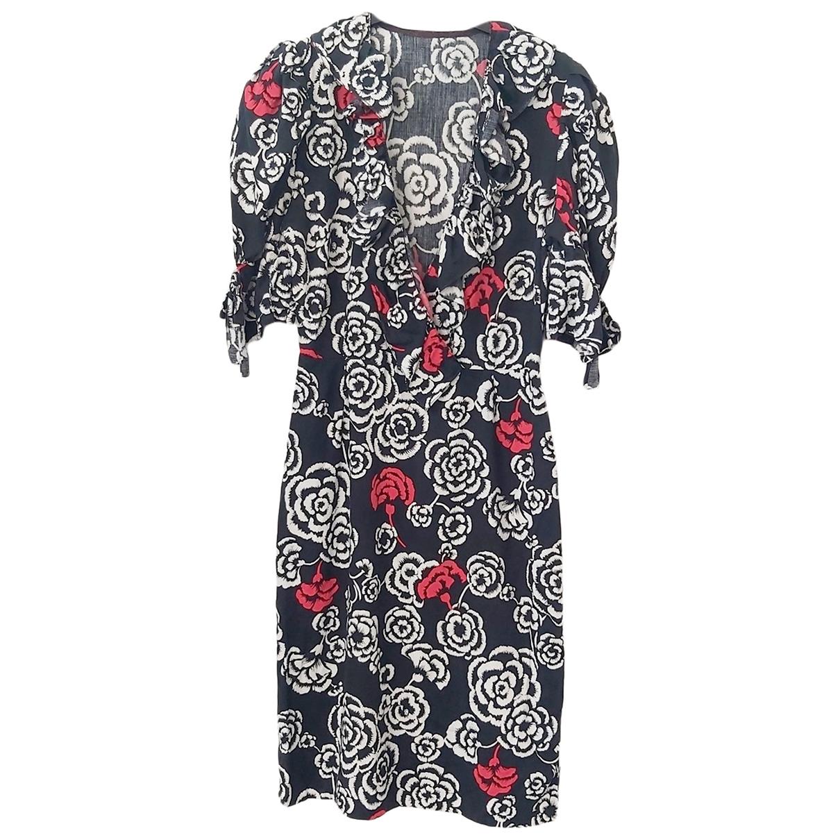 - Robe Hippie Chic pour femme en coton - noir