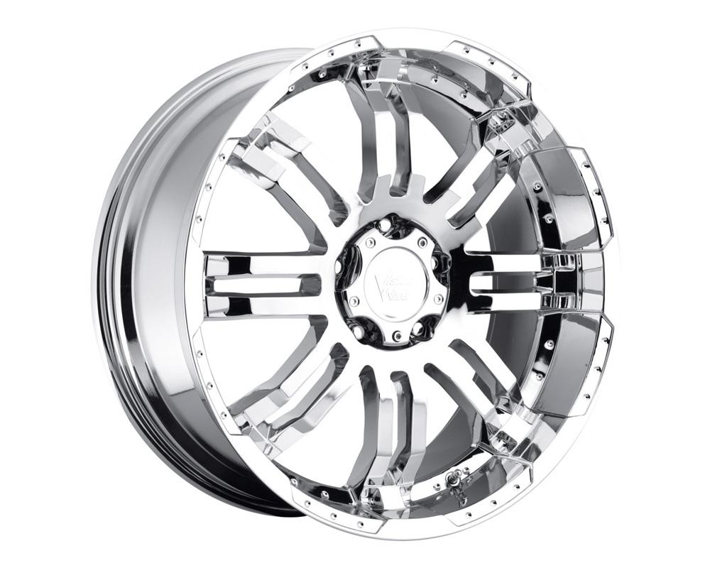 Vision Warrior Chrome Wheel 17x8.5 5x139.7 18