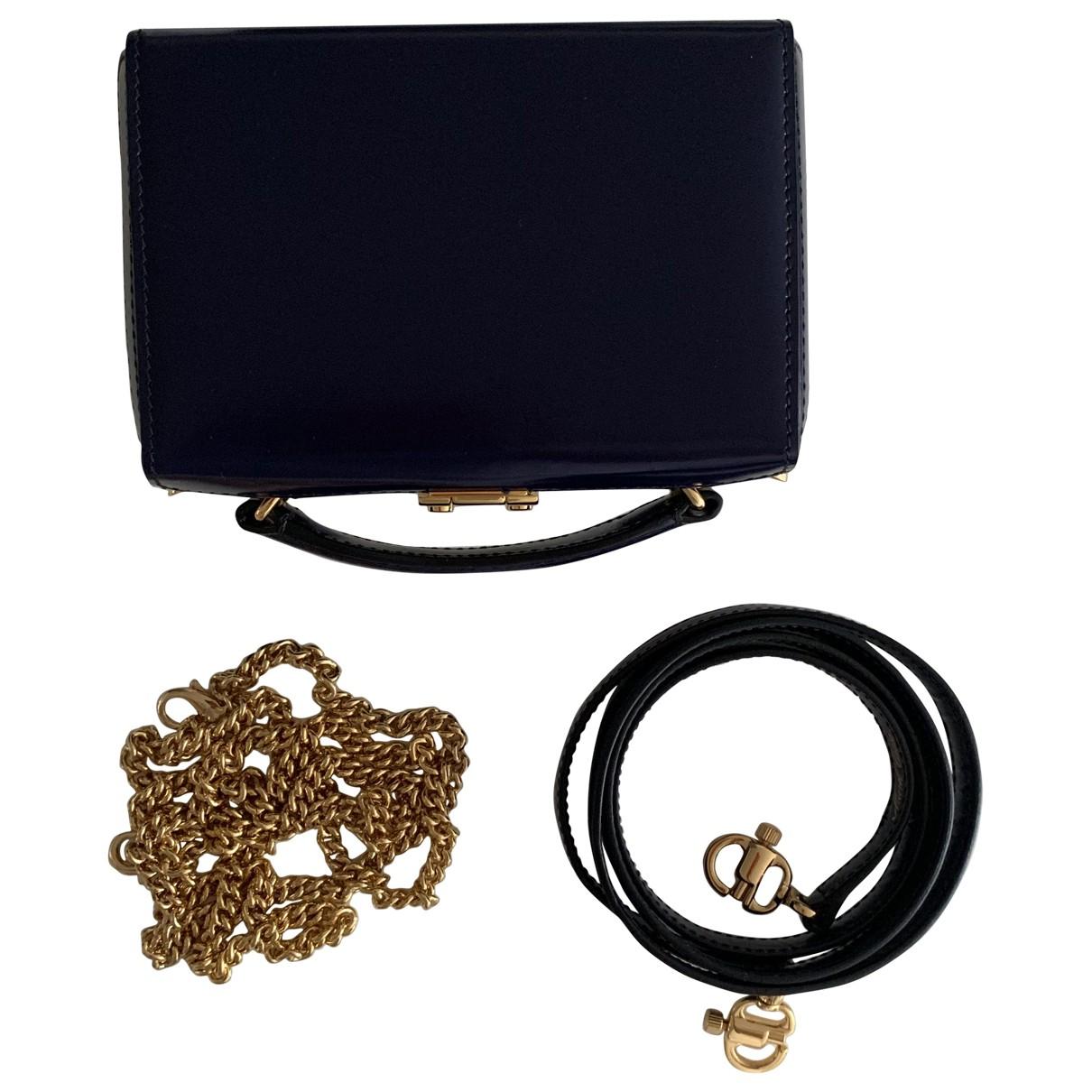 Mark Cross Grace Blue Leather handbag for Women \N