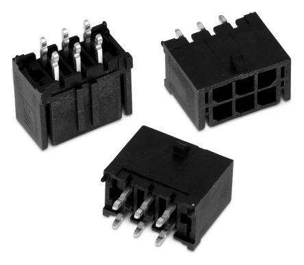 Wurth Elektronik , WR-MPC3, 10 Way, 2 Row, Straight PCB Header (5)