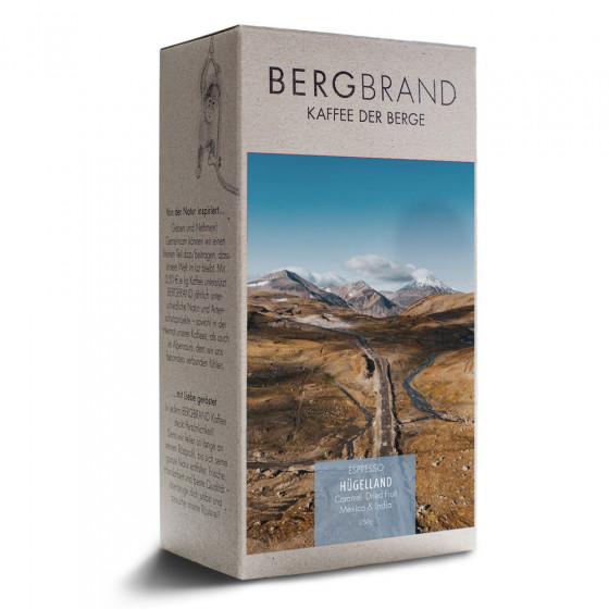 "Kaffeebohnen Bergbrand Kaffeerosterei ""Huegelland Espresso"", 250 g"