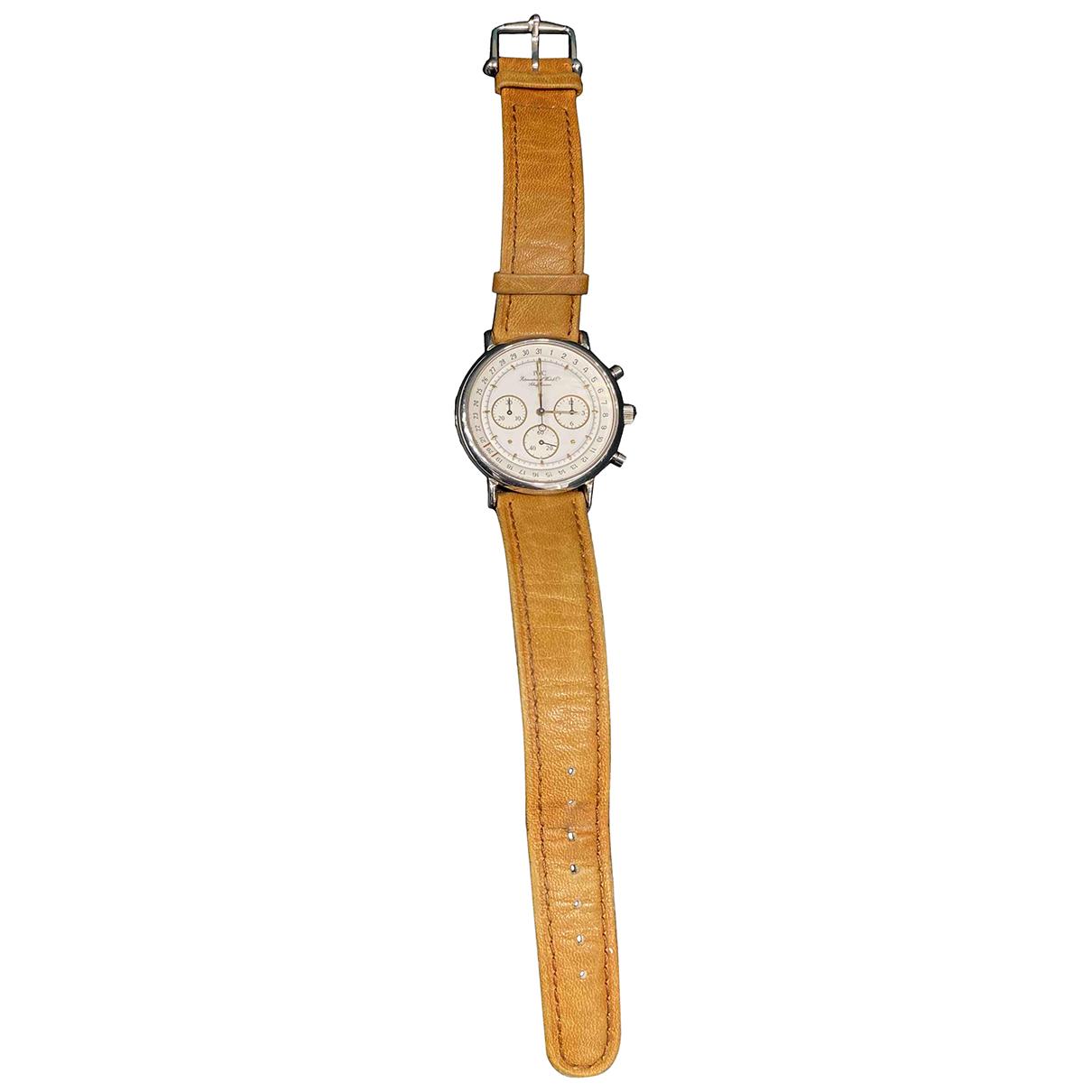 Iwc Portofino Uhr in  Braun Stahl