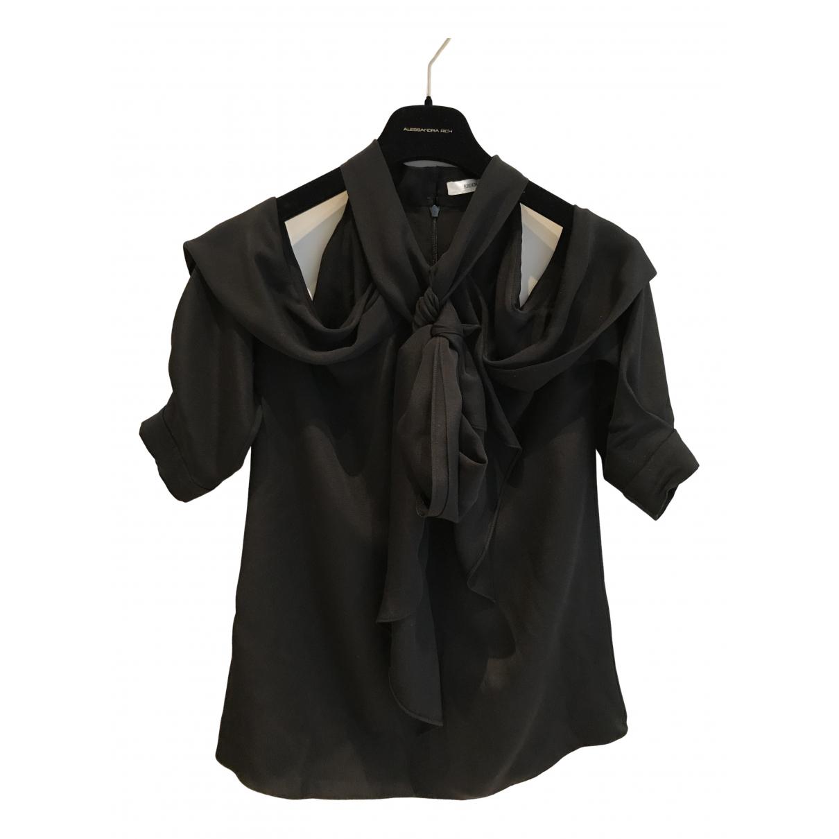 Erdem \N Black Silk  top for Women 12 UK