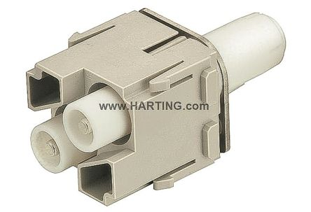 HARTING Han-Modular 0914 Series Cable Mount HV Module, Male, 2 Way, 40A, 5 kV