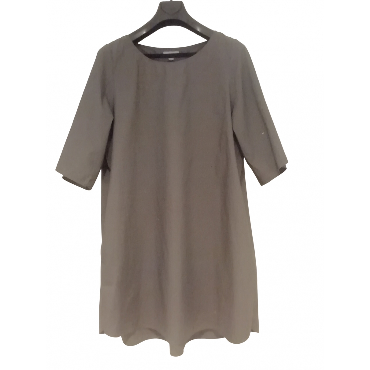 Cos \N Kleid in  Khaki Baumwolle