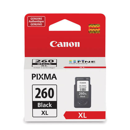 Canon PG-260XL Original Black Ink Cartridge High Yield (3706C001)
