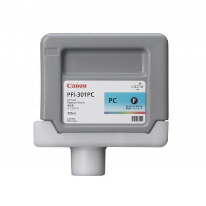 Canon PFI-301PC 1490B001AA cartouche d'encre originale cyan photo pigment