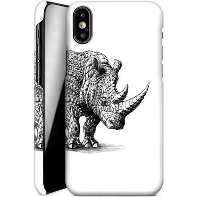 Apple iPhone X Smartphone Huelle - Rhinoceros von BIOWORKZ