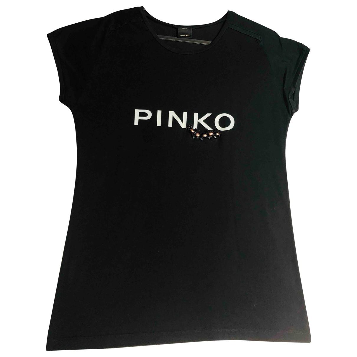 Pinko \N Top in  Schwarz Baumwolle