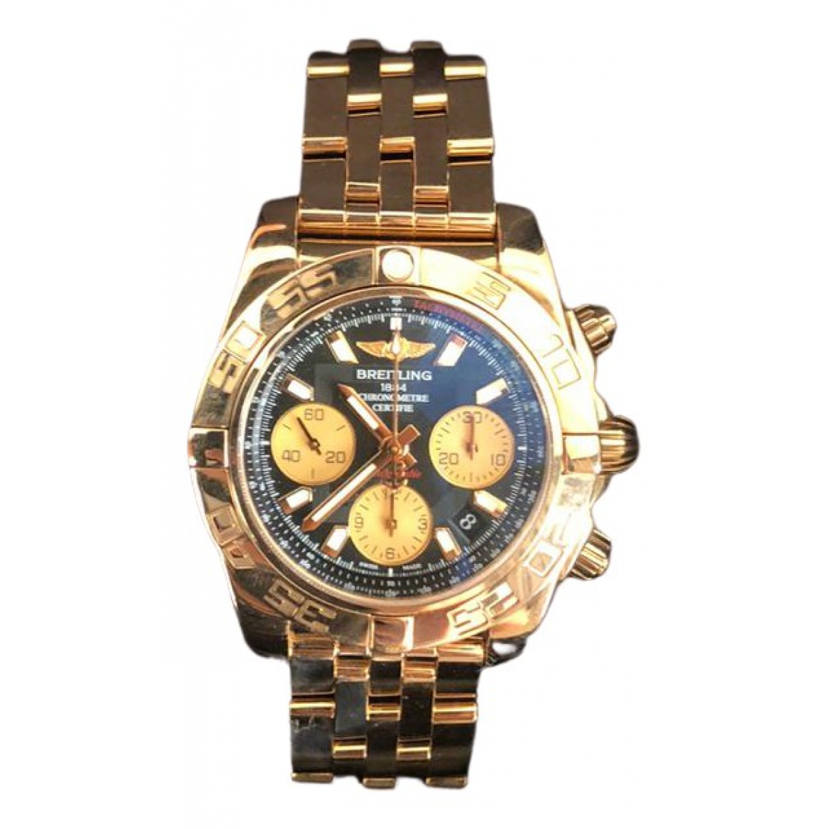 Breitling Chronomat Gold Pink gold watch for Men \N