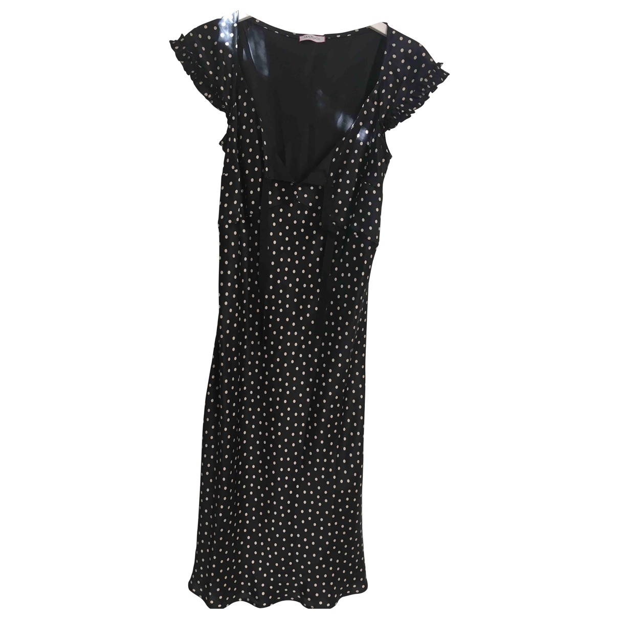 Max & Co \N Black Silk dress for Women 40 IT