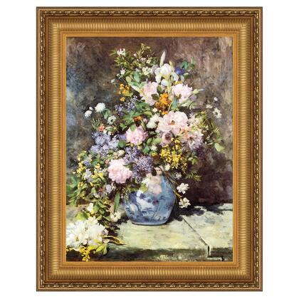 DA4651 13X17 Vase Of Flowers 1886