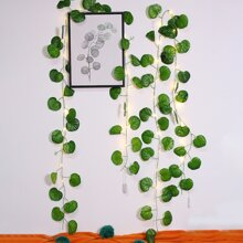 1pc Artificial Vine String Light With 20pcs Bulb