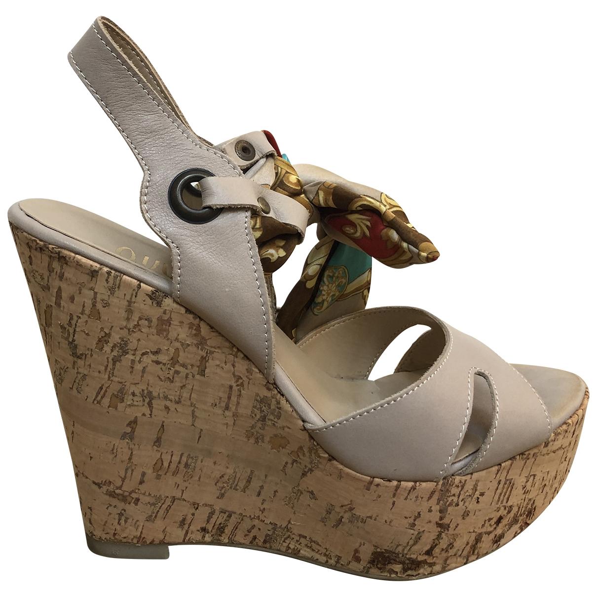 Sandalias romanas de Cuero Ovye