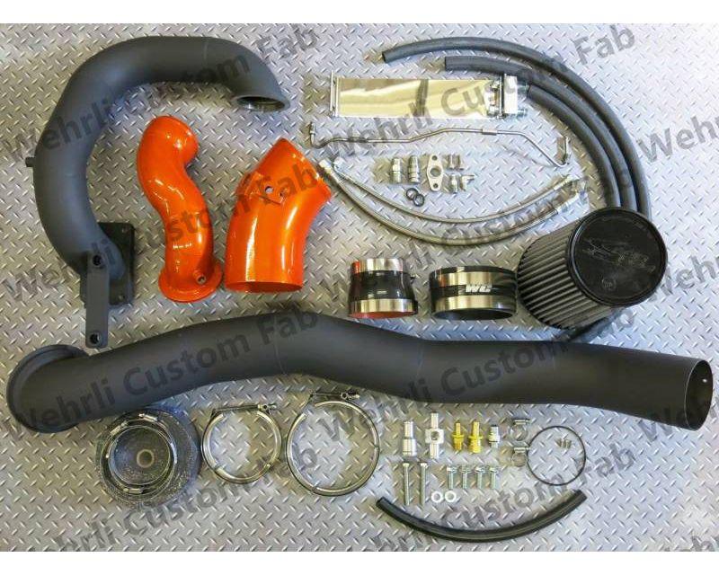 WCFab 2007.5-2009 6.7 Cummins S400/Stock Twin Turbo Kit Grey Two Stage Powder Coating