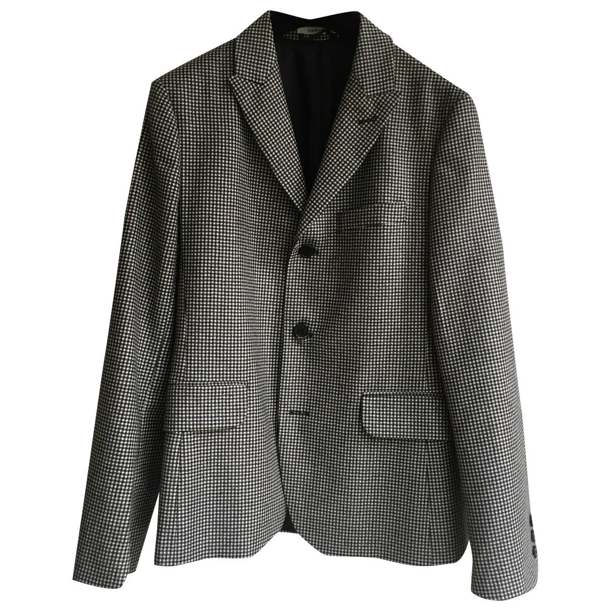 Carven \N Grey Wool jacket  for Men 46 FR
