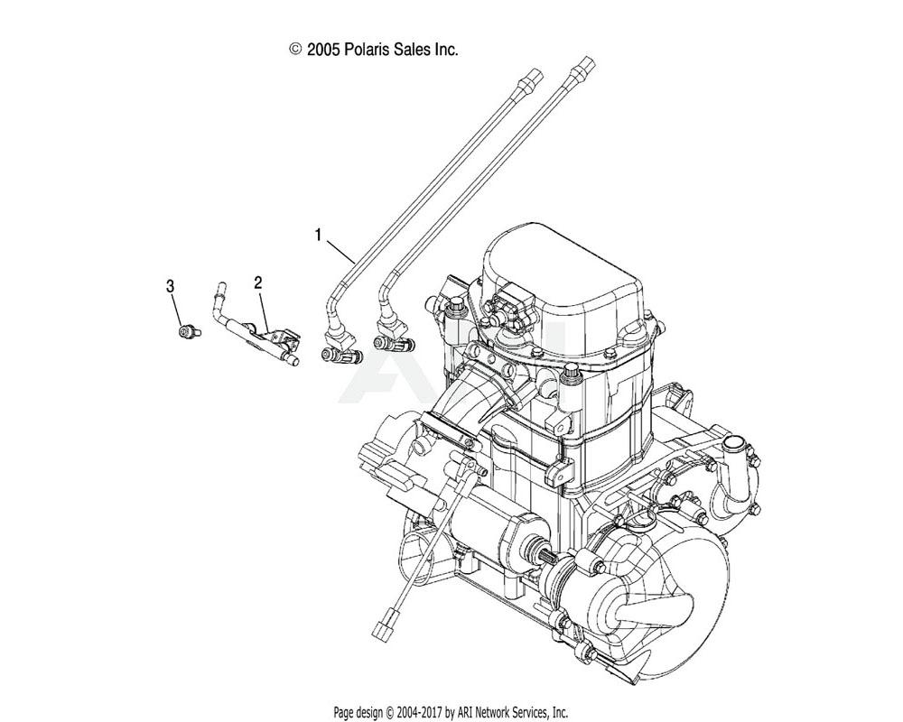 Polaris OEM 1202863 Asm., Fuel Injector