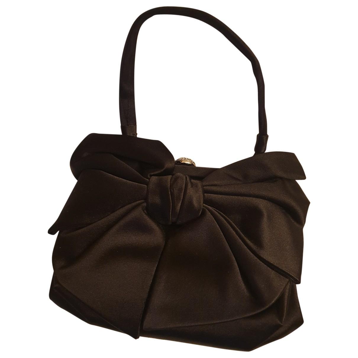Valentino Garavani Vring Black Silk Clutch bag for Women N