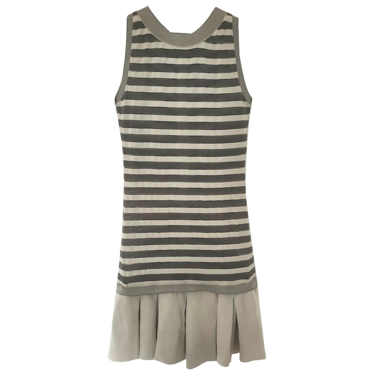 Ermanno Scervino \N Kleid in  Bunt Baumwolle