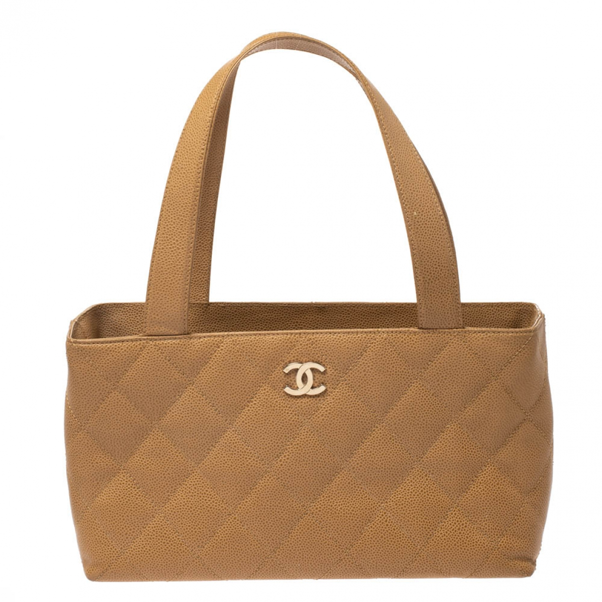 Chanel \N Beige Leather handbag for Women \N