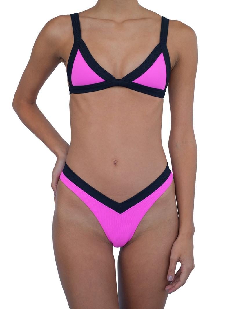 Ericdress Print Color Block Tankini Set Swimwear