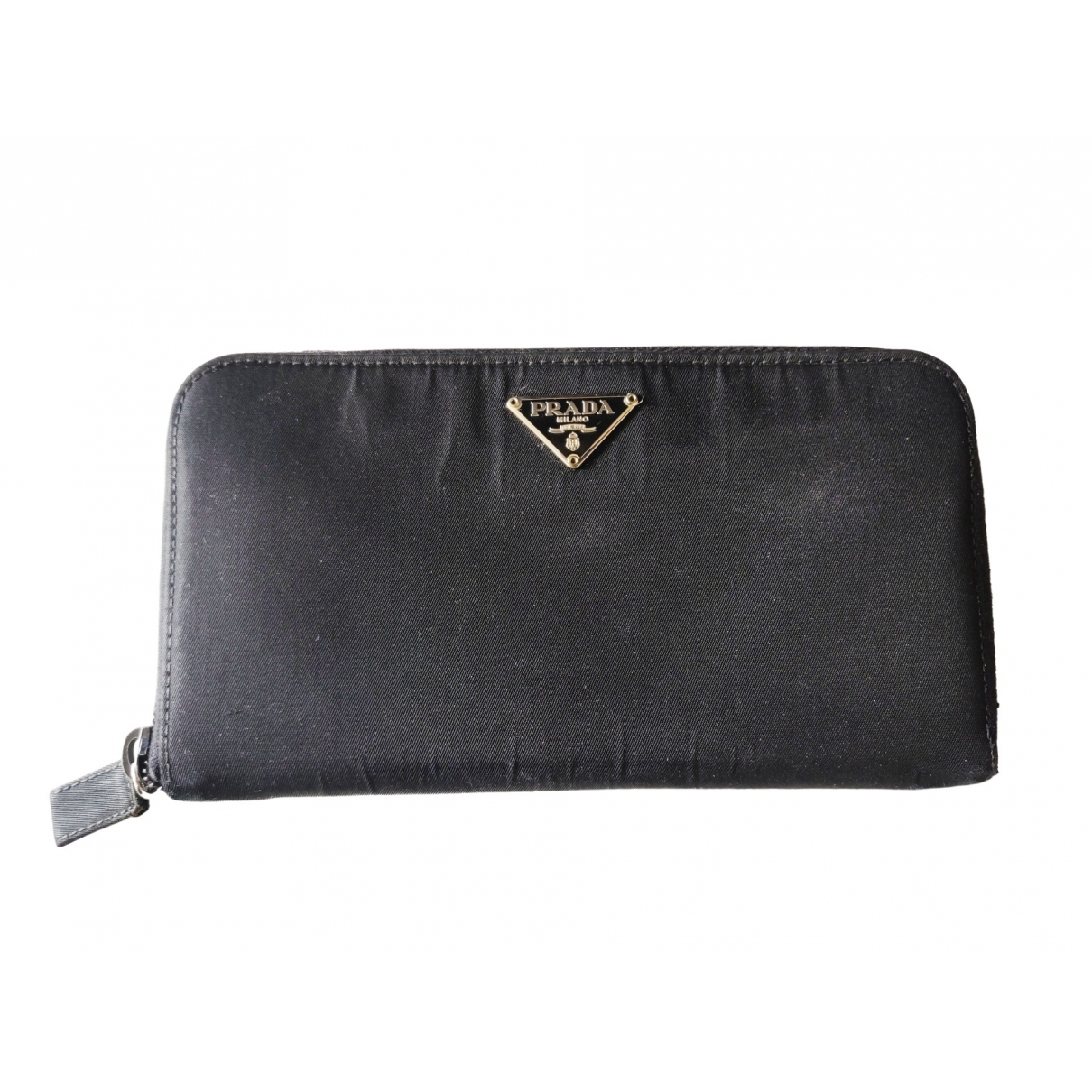 Prada Tessuto  Black Cloth wallet for Women \N