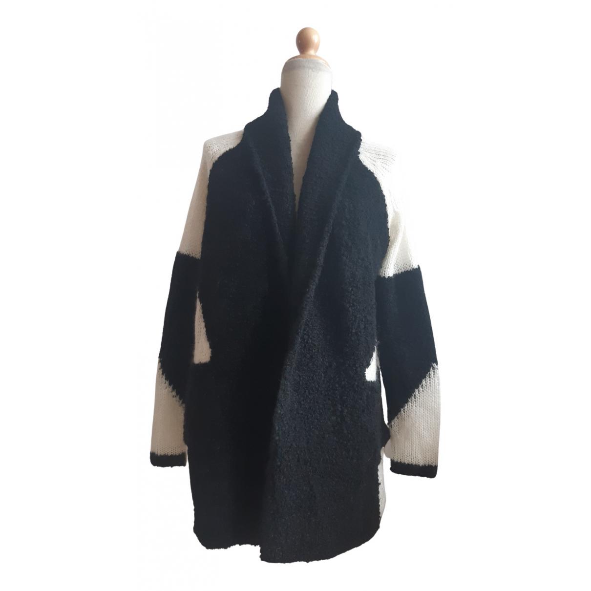 Ikks N Black Wool Knitwear for Women M International
