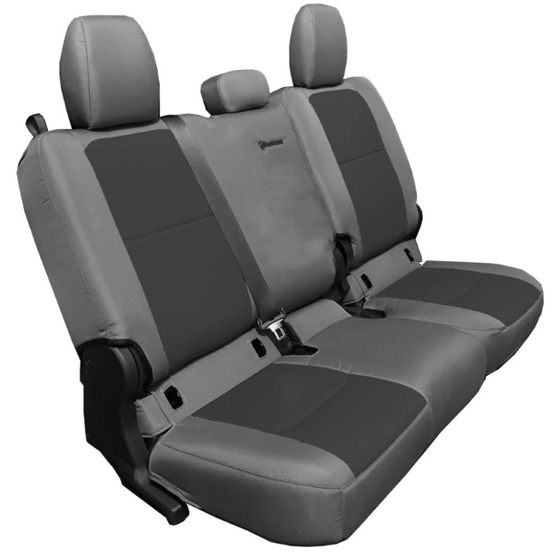 Bartact JTSC20194FGG Rear 4 Door Seat Covers 2019 and Up Jeep Gladiator Graphite/Graphite Without Arm Rest