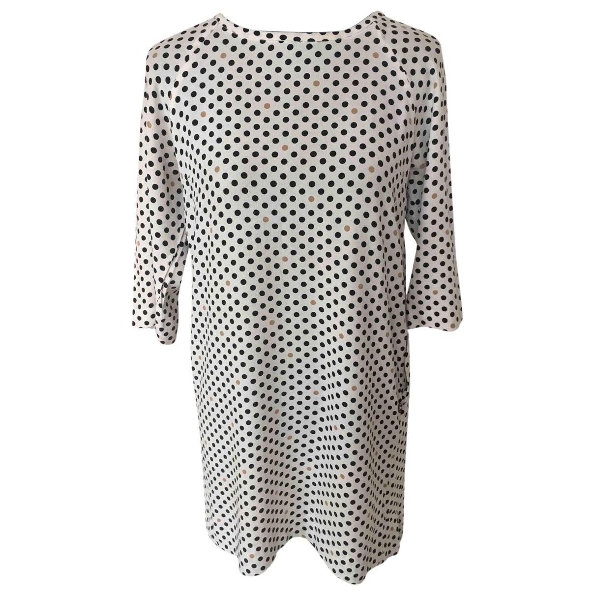 Ottod'ame \N White Cotton dress for Women 38 FR