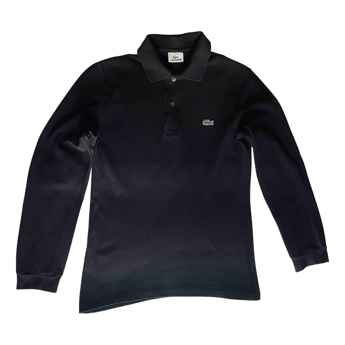 Lacoste \N Poloshirts in  Schwarz Baumwolle