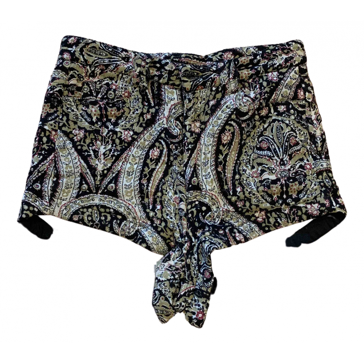 Laurence Bras \N Black Cotton Shorts for Women 0 0-5