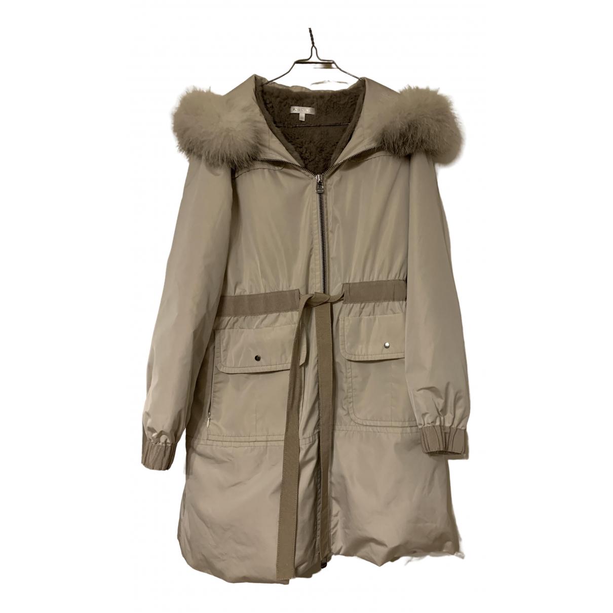 Paule Ka \N Beige coat for Women 42 FR