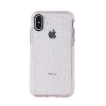 Diamond Pattern Transparent iPhone Case