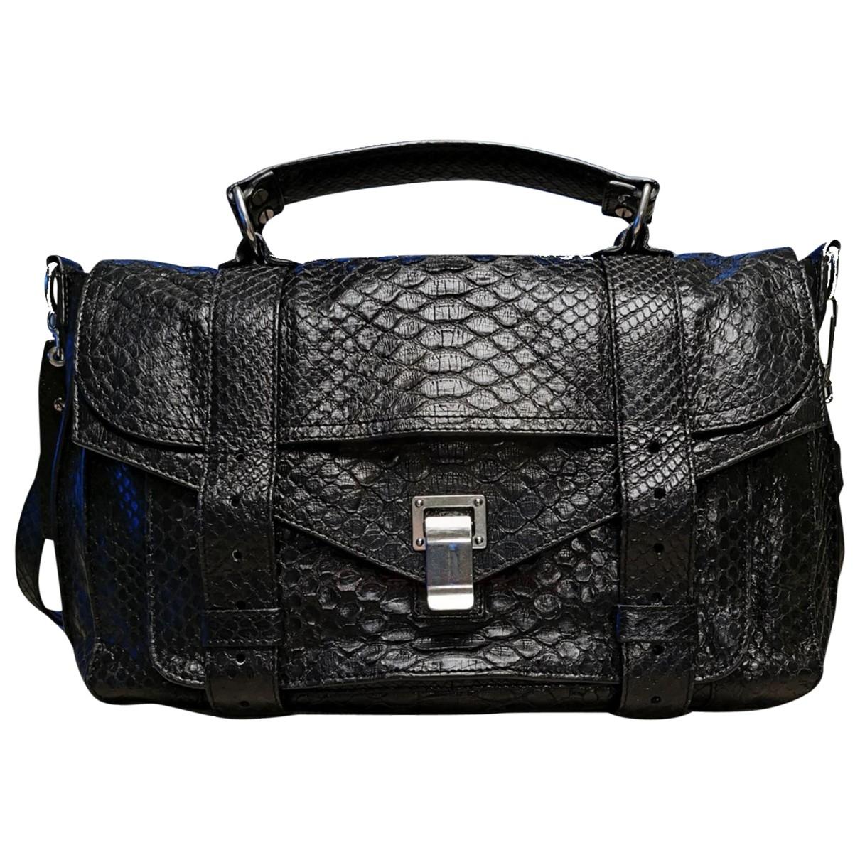 Proenza Schouler PS1 Handtasche in  Schwarz Python