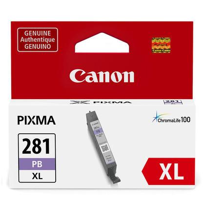 Canon CLI-281XL 2038C001 Original Photo Blue Ink Cartridge High Yield