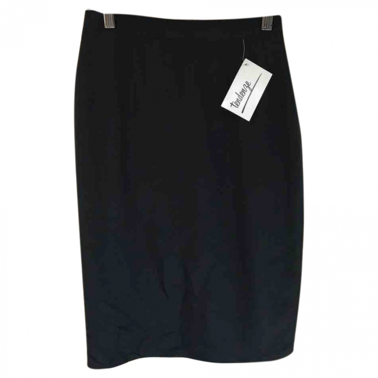 Non Signé / Unsigned \N Black Silk skirt for Women 42 IT