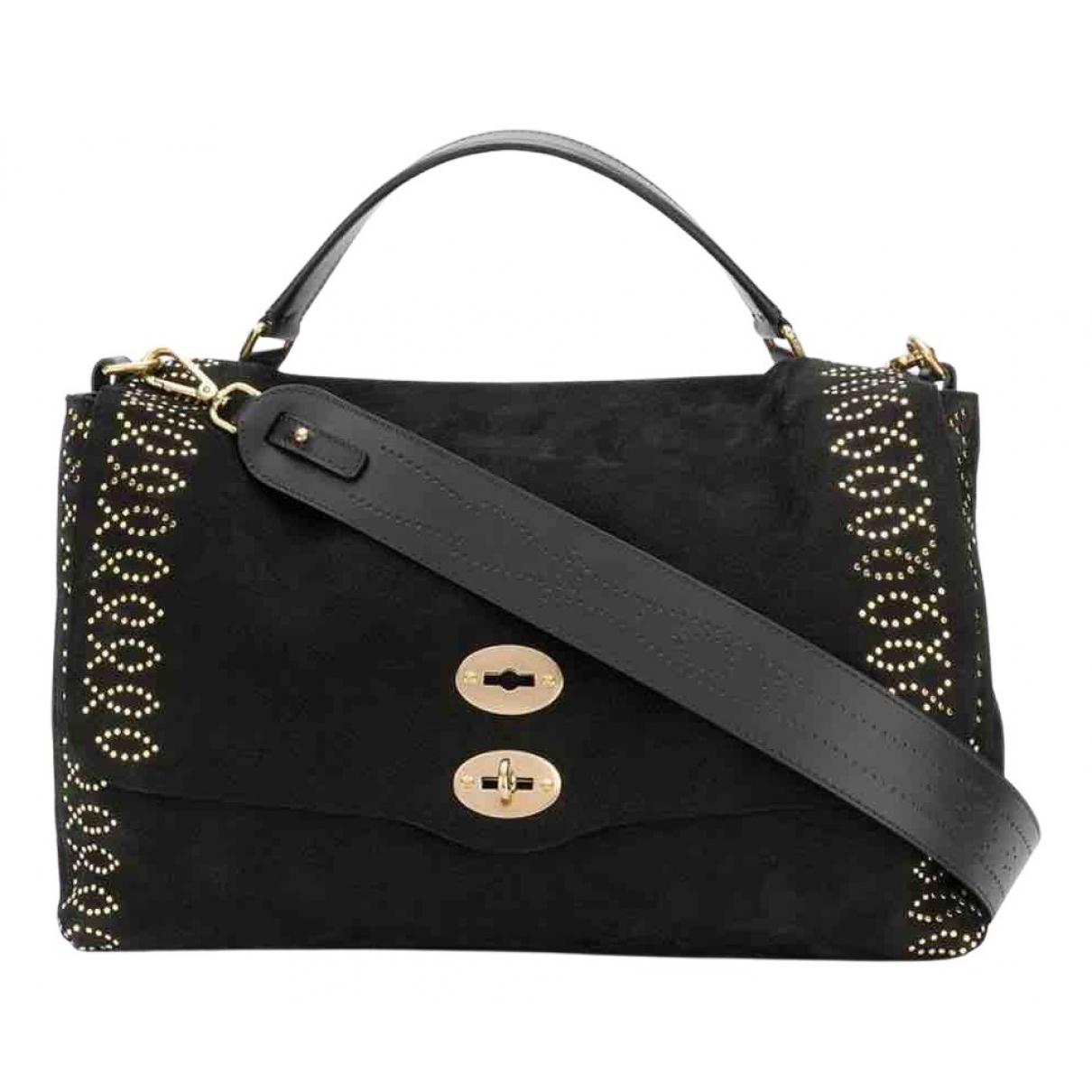 Zanellato \N Handtasche in  Schwarz Veloursleder