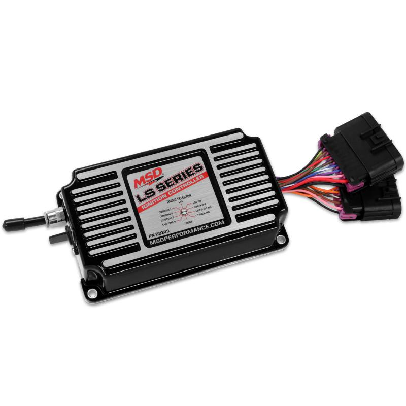MSD Ignition 60143 control, timing/rev LS, Black