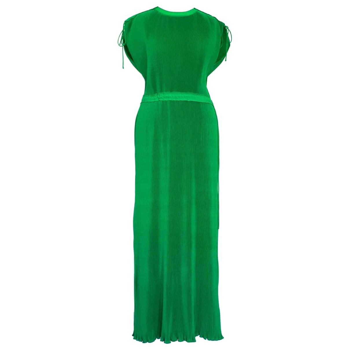 Calvin Klein \N Kleid in  Gruen Polyester