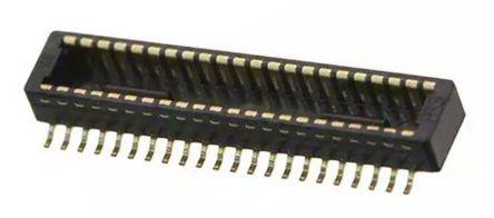 Hirose , DF40, 40 Way, 2 Row, Straight PCB Header (1000)