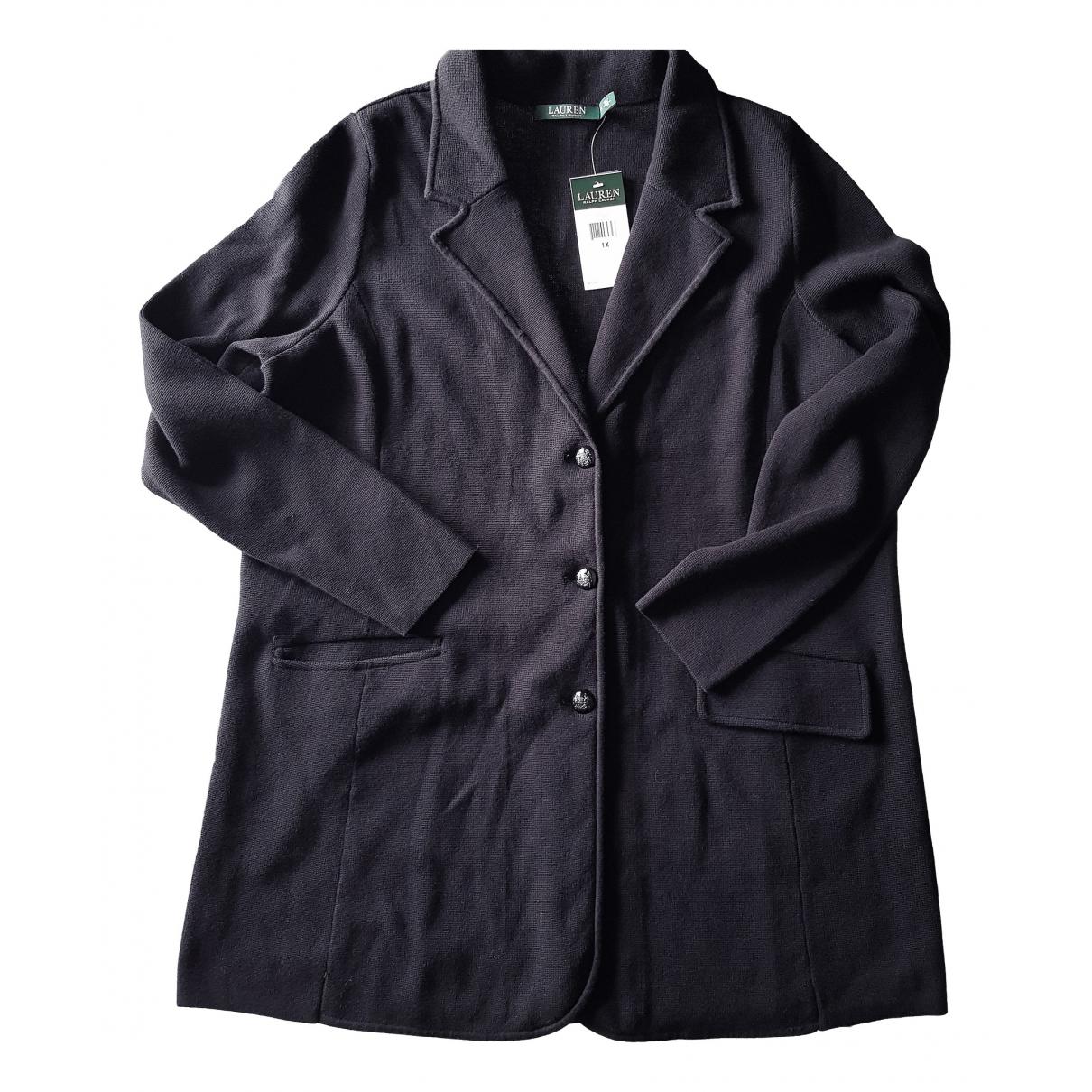 Lauren Ralph Lauren \N Black Cotton jacket for Women XL International