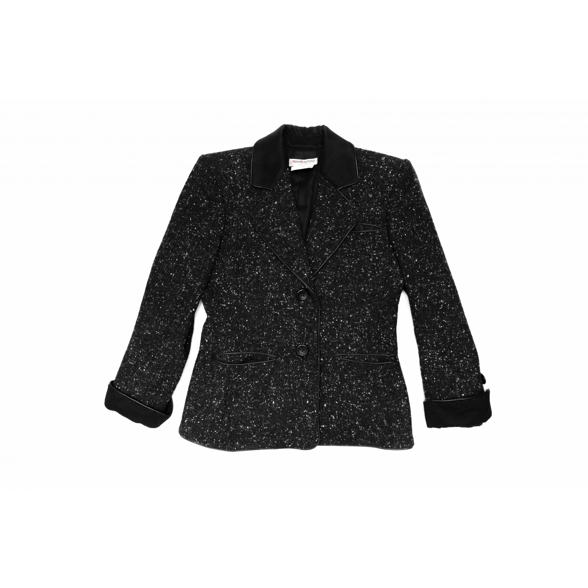 Yves Saint Laurent - Veste   pour femme en laine - noir