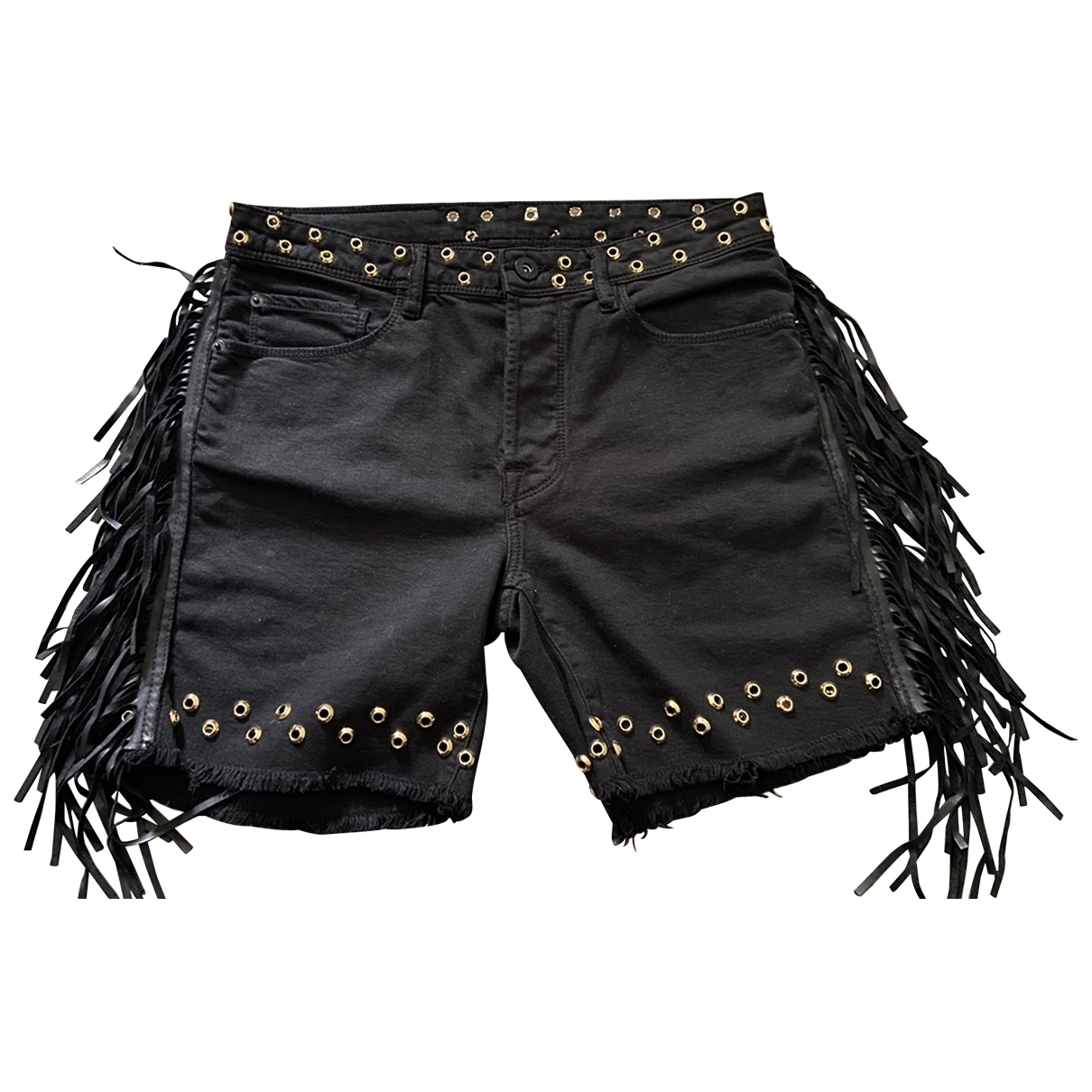 Bermudas en Algodon Negro Each X Other