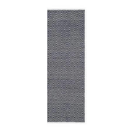 Safavieh Krista Geometric Cotton Rug, One Size , Blue