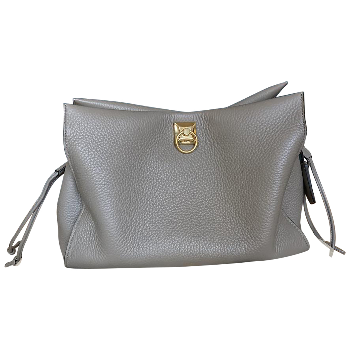 Mulberry \N Anthracite Leather handbag for Women \N