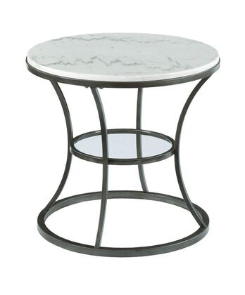 Impact Collection 576-918 Round End Table in Bronze and